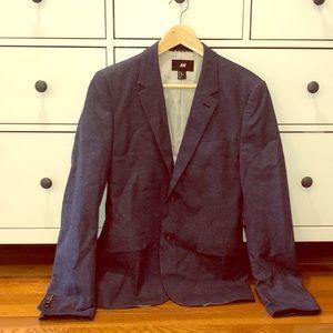 H&M Blue Blazer 36R. Worn once.
